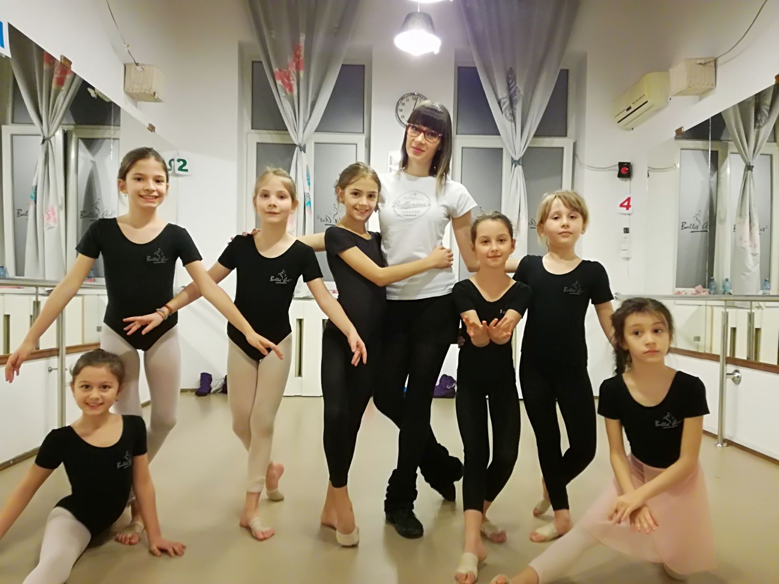 Elevele Ballet Art se pregătesc pentru o nouă competiție