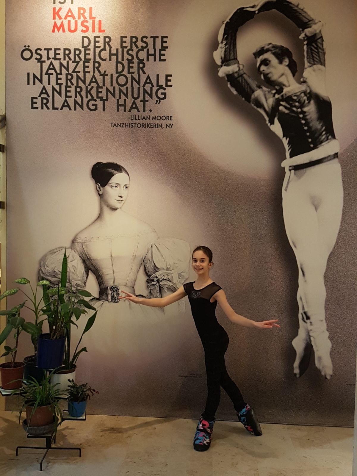 Ana Popescu, eleva Ballet Art, a fost admisă la