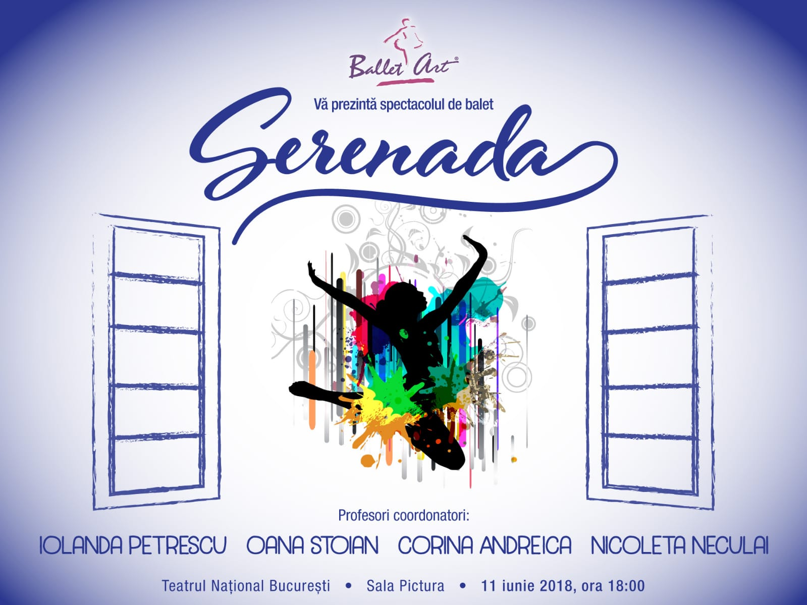 """Pe 11 iunie vă invităm la spectacolul """"Serenada"""""""